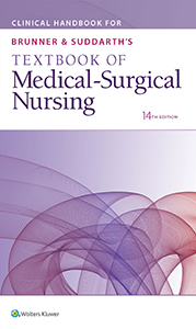 Clinical Handbook for Brunner & Suddarth's Textbook of Medical-Surgical Nursing book cover