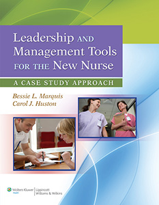 Leadership and Management Tools for the New Nurse book cover