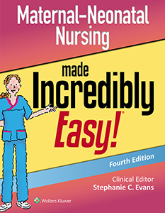 Maternal-Neonatal Nursing Made Incredibly Easy! book cover