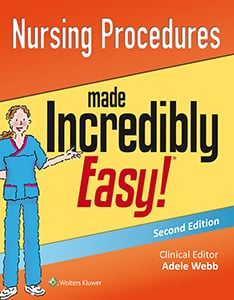 Nursing Procedures Made Incredibly Easy! book cover