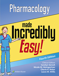 Pharmacology Made Incredibly Easy! book cover