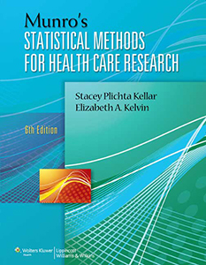 Munro's Statistical Methods for Health Care Research book cover