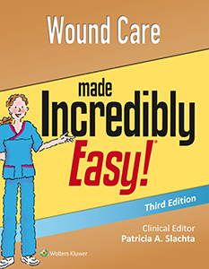 Wound Care Made Incredibly Easy!, 3rd Edition book cover