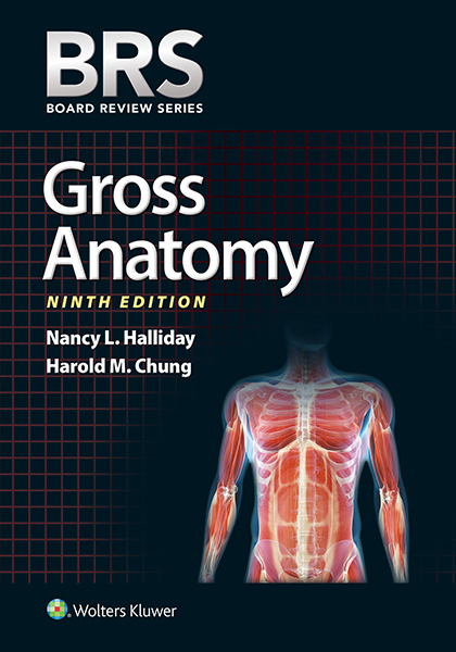 BRS Gross Anatomy book cover