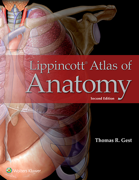 Lippincott Atlas of Anatomy book cover
