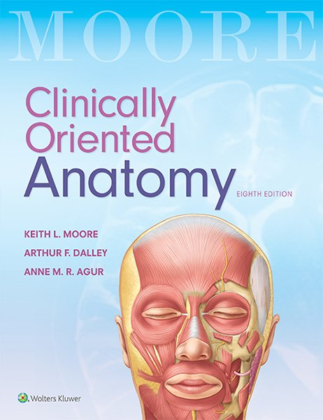 Moore's Clinically Oriented Anatomy book cover