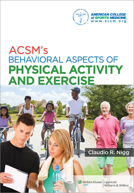 Behavioral Aspects of Physical Activity and Exercise