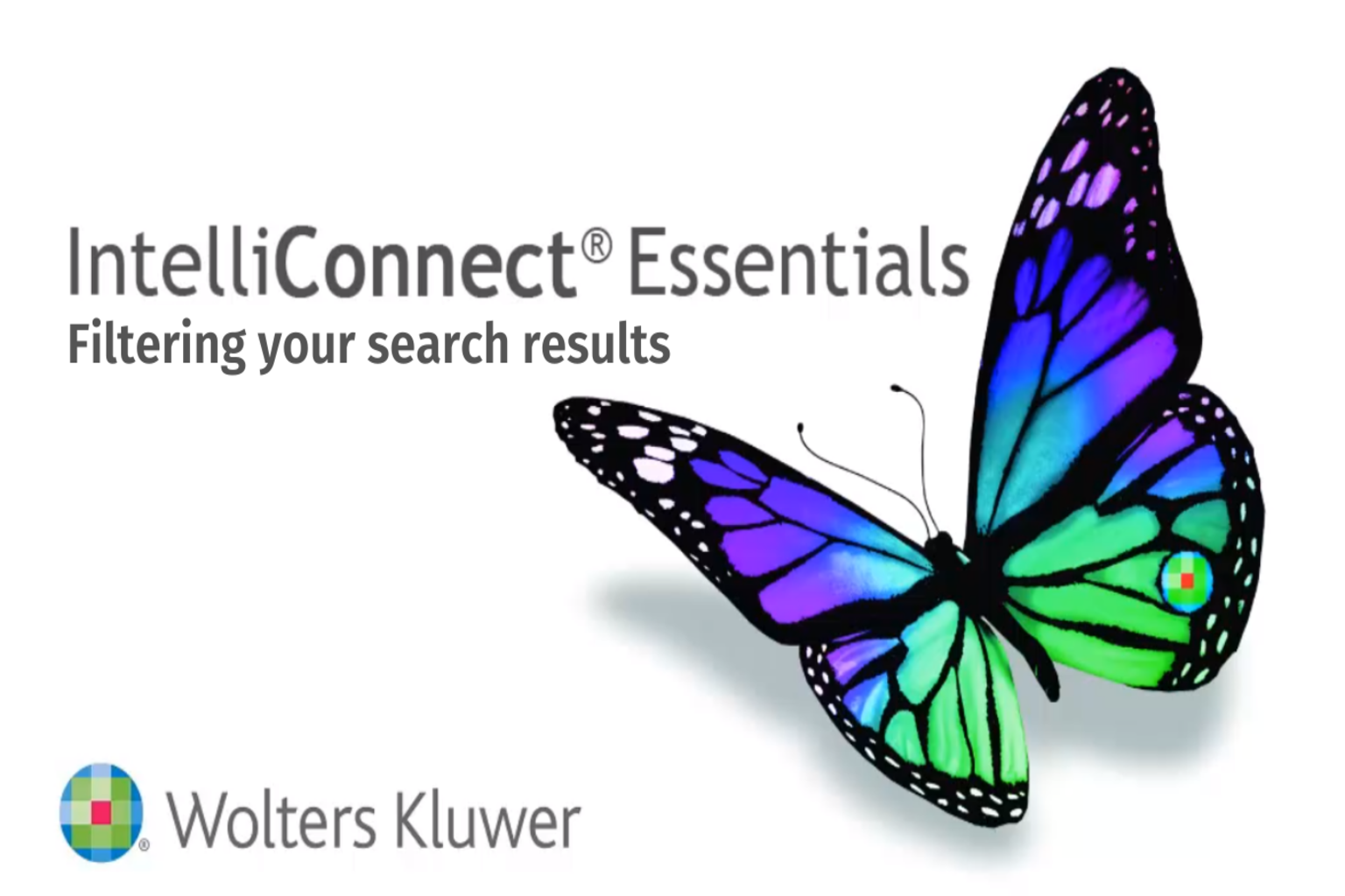 CCH Filtering your search results