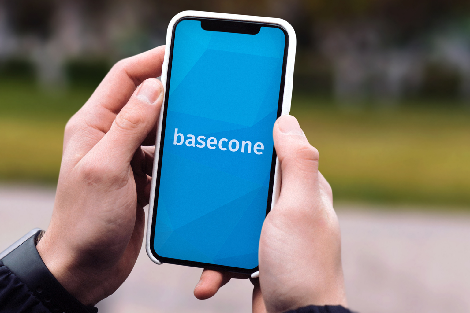 the Basecone app