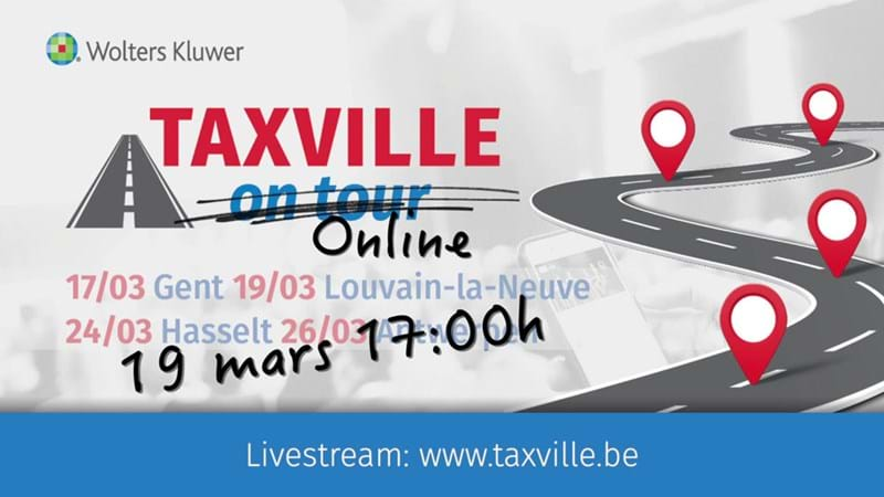 Wolters Kluwer Belgique transforme Taxville On Tour en Taxville Online