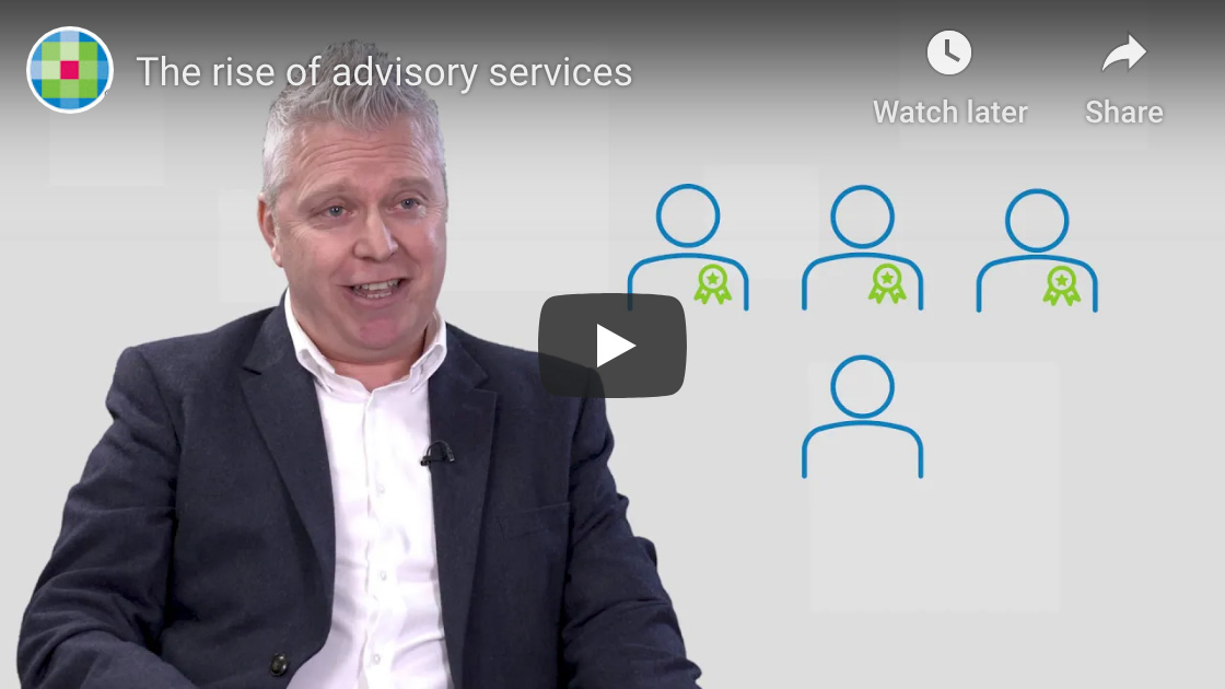 Video - The rise of advisory services